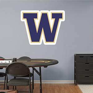 Washington Huskies Logo Fathead Wall Decal